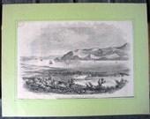 1856 newspaper images of San Francisco