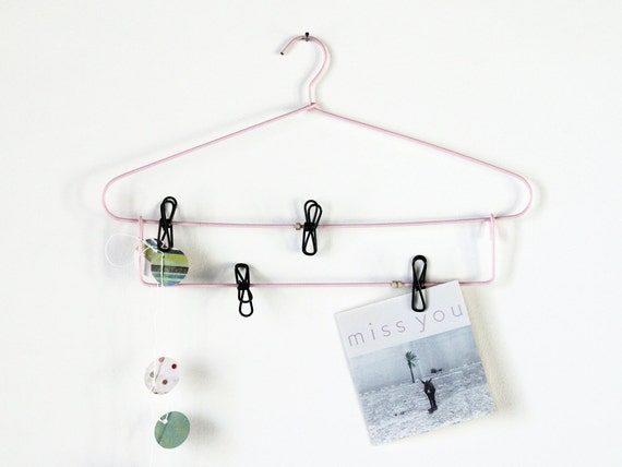 Vintage laundry rack: Fun French 50's rack to use as display