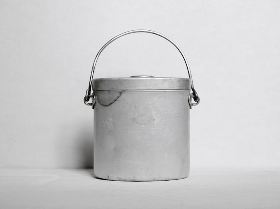 Vintage miners lunch box