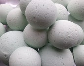 14 bath bombs Lavender & Chamomile gift bag bath fizzies, great for dry skin, shea, cocoa, 7 ultra rich oils