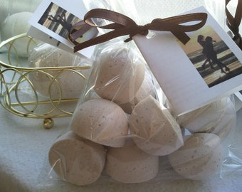 BOGO 14 bath bombs (Ambra Ciocollata) gift bag bath fizzies, great for dry skin, shea, cocoa, 7 ultra rich oils - AWESOME - Buy 1 Get 1 FREE