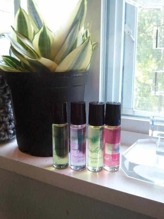 Flirtatious Perfume Pure Fragrance Oils By Spagirlsoaps 1