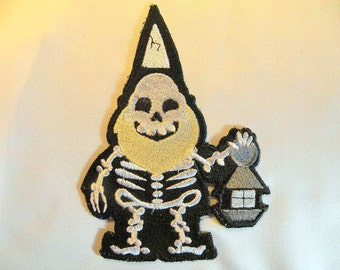 Skelegnome Iron on Patch
