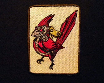 """Cardinal Mission Iron on Patch 3.6"""" x 4.6"""""""
