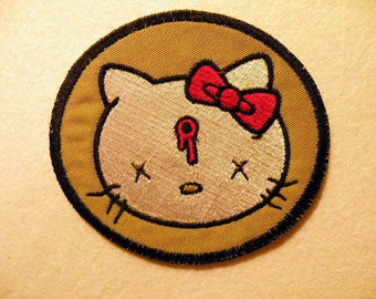 Dead Kitty Iron on Patch