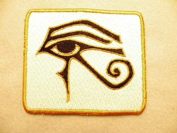 """Eye of Ra Iron on Patch 4.06"""" x 3.61"""""""