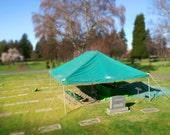 11x14 Mini Cemetery Tilt Shift Photography Art Print Series 6