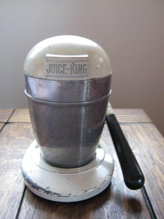 Vintage Retro Juice King JK 35 Juicer Orange Apple | 570 x 760 jpeg 51kB