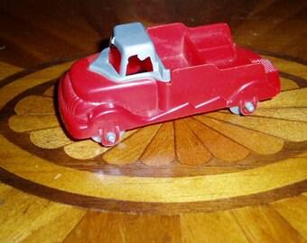 50s Gilmark Hard Plastic Car Truck Retro Mid Century Toy