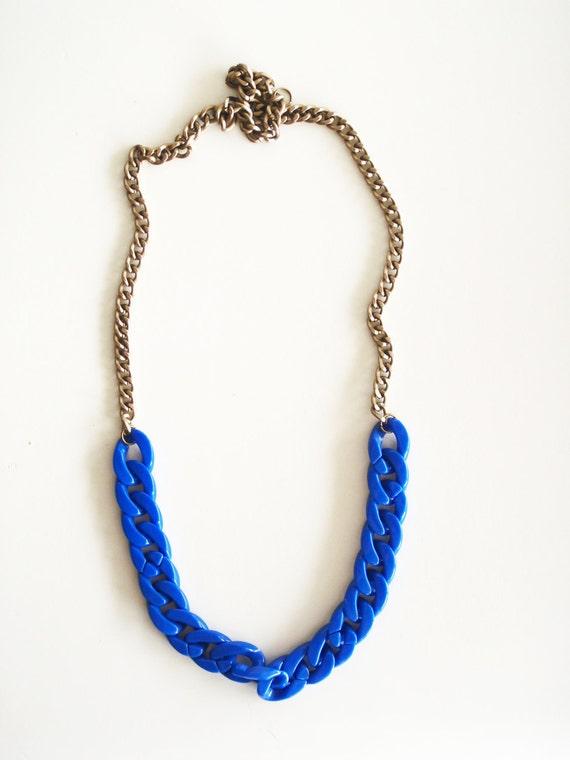RESERVED for Jessica Hoyt - CHARLOTTE in cobalt & black