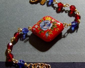 Japanese Bead with Czech Glass
