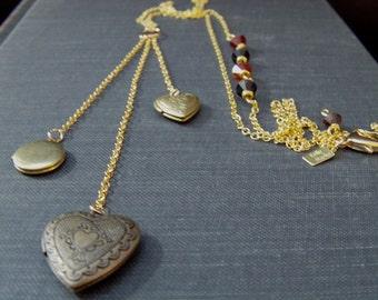 Be Still My Heart Locket Necklace