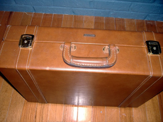Vintage Stebco Leather Briefcase  Excellent Condition Look Lawyerly