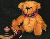Teddy Bear PDF Sewing Pattern - Ruffin by Megan Wallace