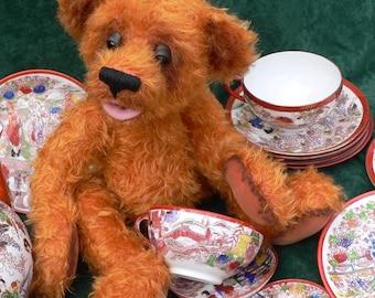 Teddy Bear Sewing ePattern  - Wooster by Megan Wallace