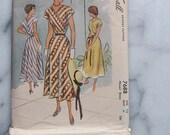 1950s McCall's 'Roman Holiday' Dress Pattern
