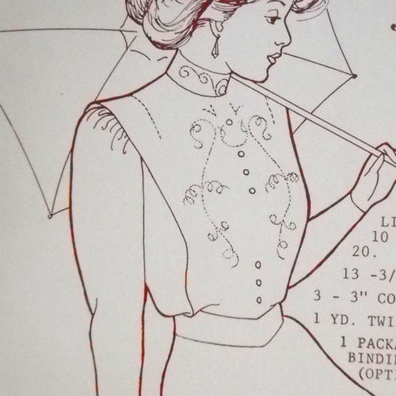 Gibson Girl Blouse Patterns 25