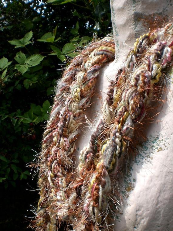 Skinny Lariat Scarf -Barley