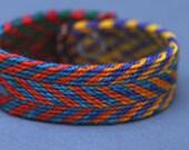 Zigzag Complementaries Woven Bracelet