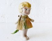 10% SALE - Antique Doll- Alice Tail and Cheshire Cat Tail Air Plant Garden Game