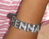 Personalized -Bling Bling- Alphabet Charm Bracelet