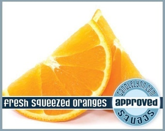 FRESH SQUEEZED ORANGES Fragrance Oil, 2 oz