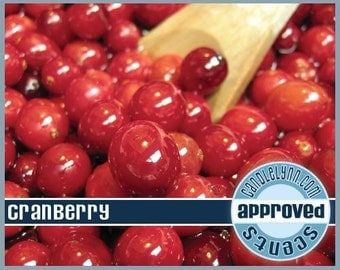 CRANBERRY Fragrance Oil, 2 oz.