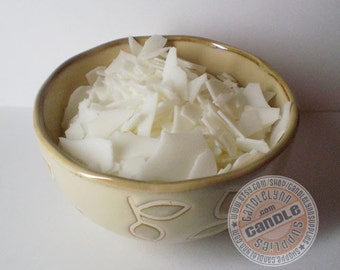 8 oz of ECOSOYA Soy WAX for Pillars, Tarts and Votives