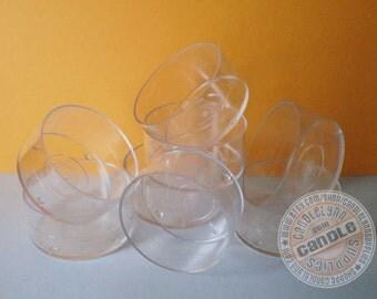 100 Clear Tea Light Cups - DIY