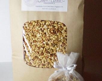 Unscented Aroma Sachet Filling - Natural Corn Cob Fibers
