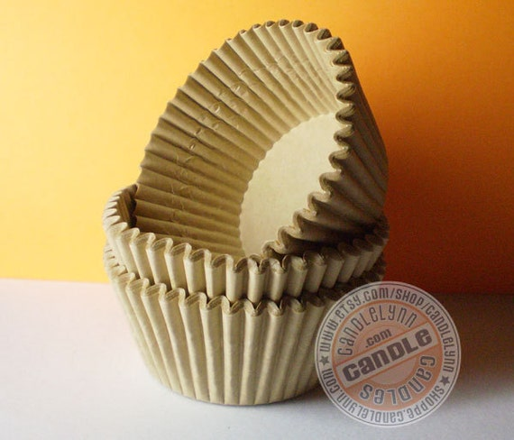 200 Standard Unbleached Cupcake Baking Cups