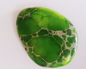 Green African Turquoise Cabochon P75