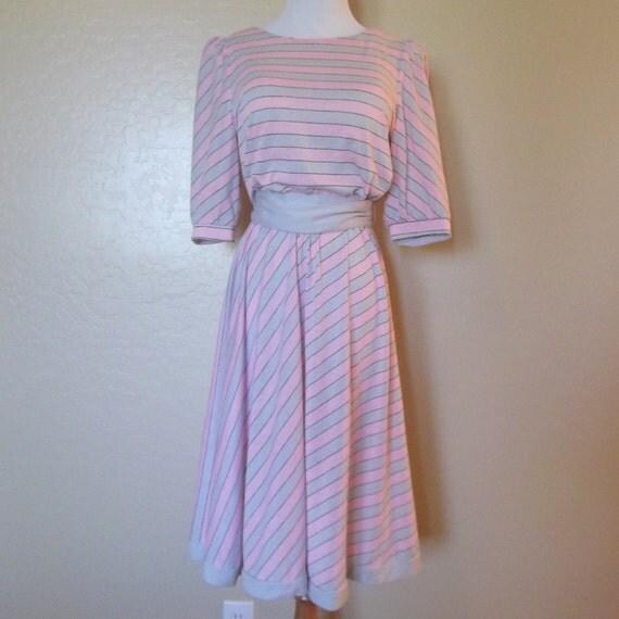 vintage 80s Dress  size M-L