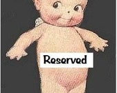 Reserved for noahsmommy
