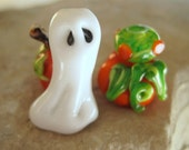 Lampwork Glass Beads for Halloween