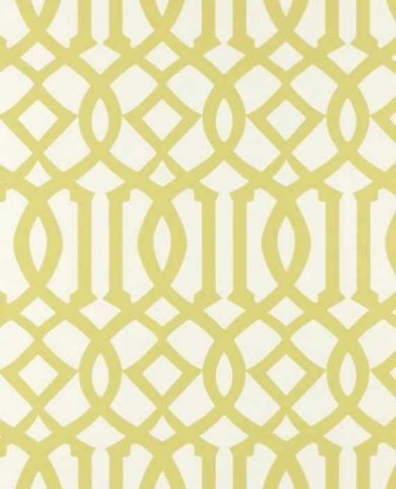 NEW COLOR- CITRINE Imperial Trellis Alternative Fabric By the Yard- Sale 28.00 per yard- Limited Time Only