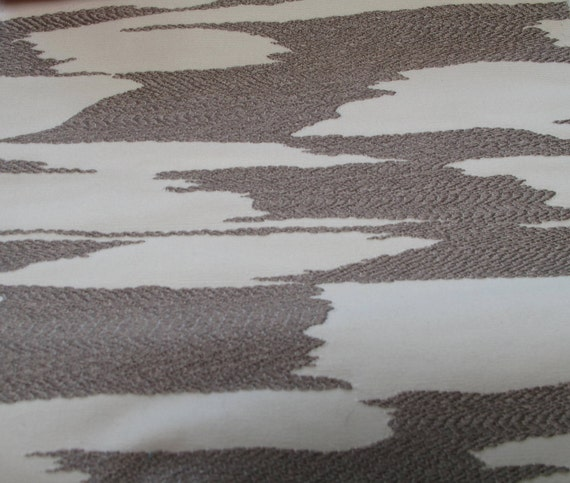NEW Fabric sold by the Yard from our Reflection Collection- Platinum and White