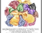digital art  /  ribbons 'n bits /  gingham