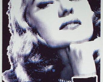 Rita Hayworth art print