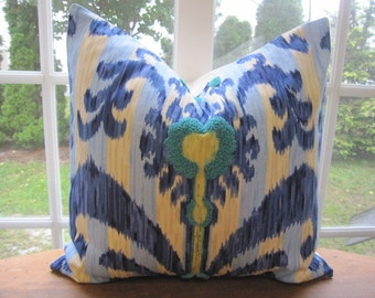 Pillow, Decorative Throw Pillow Cover, Iman Home Java Moon Luna Tufted Medallion Pillow Cover 22 x 22, 24 x 24