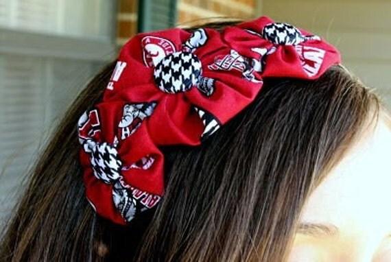 Alabama Roll Tide Bloom Cluster Headband