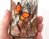 Petite Butterfly Vintage Juice Glass