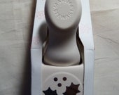 Martha Stewart Crafts Holly and Berry Paper Punch - Christmas