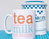 Brew Mug/Cup - (Tea Milk No Sugar)