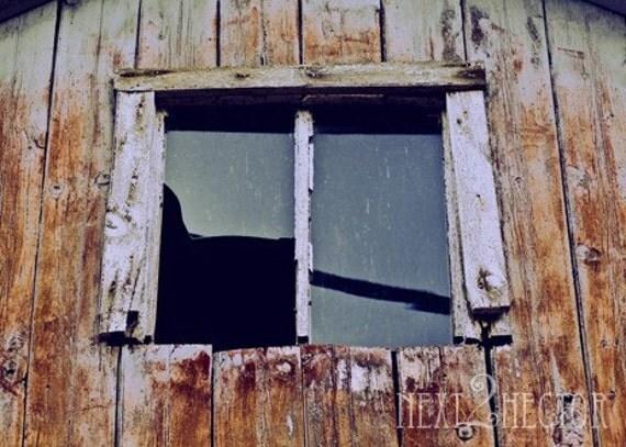 19th Century Barn Window 5x7 Inch Photographic Print