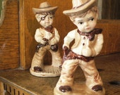 super cute lil' cowboy collectible figurines