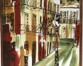 Pirate's Alley New Orleans Original Painting Art French Quarter Douthit