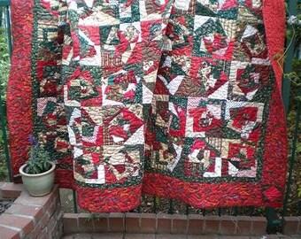 Christmas Crazy Quilt
