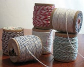 Bakery Twine on Vintage Spools - 60 Yards in 5 Colors