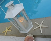 SALE - Lantern in a Carriage Style - Flameless Candle Lantern